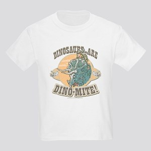 Girls Dinosaurs R Dino-Mite Kids T-Shirt