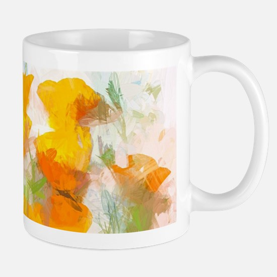 Sunrise Poppies Mugs