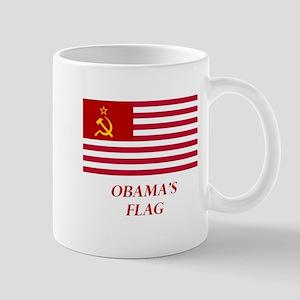 Obama's New Flag Mug