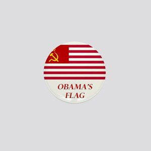 Obama's New Flag Mini Button