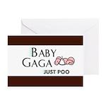 Baby Gaga Greeting Cards (Pk of 20)