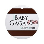 Baby Gaga Ornament (Round)