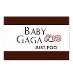Baby Gaga Postcards (Package of 8)