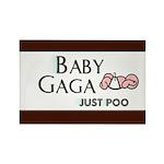 Baby Gaga Rectangle Magnet (100 pack)