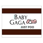 Baby Gaga Small Poster