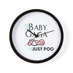Baby Gaga Wall Clock