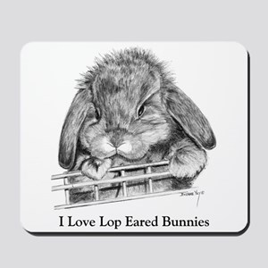 Lop Eared Bunny Mousepad
