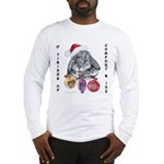 Lop Rabbit Christmas Long Sleeve T-Shirt