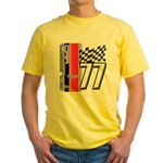 Mustang 1977 Yellow T-Shirt