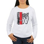 Mustang 1977 Women's Long Sleeve T-Shirt