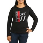Mustang 1977 Women's Long Sleeve Dark T-Shirt