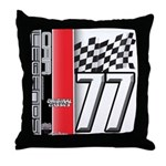 Mustang 1977 Throw Pillow