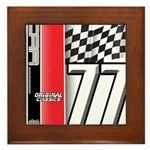 Mustang 1977 Framed Tile