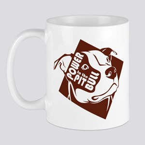 Power to the Pit Bull Mug
