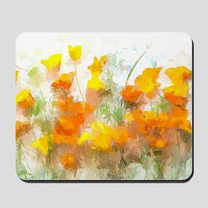 Sunrise Poppies II Mousepad