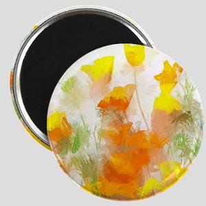 Sunrise Poppies II Magnets