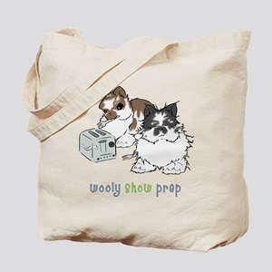 Jersey Wooly Show Prep Tote Bag