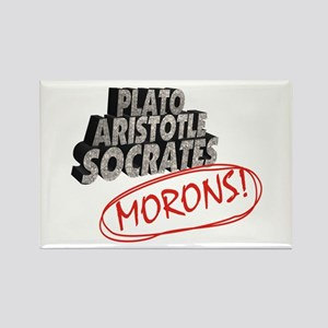 Morons Rectangle Magnet
