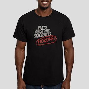 Morons Men's Fitted T-Shirt (dark)