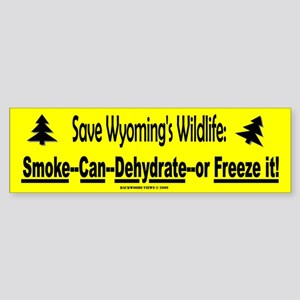 Save Wyoming's Wildlife (Bumper)
