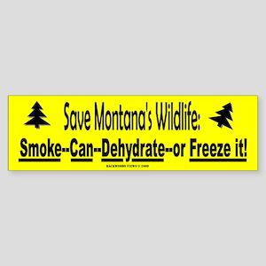 Save Montana's Wildlife (Bumper)