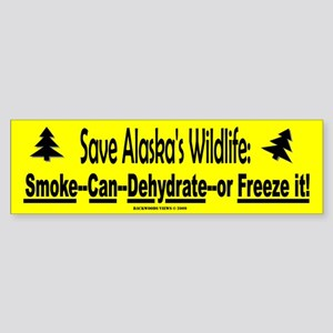 Save Alaska's Wildlife (Bumper)