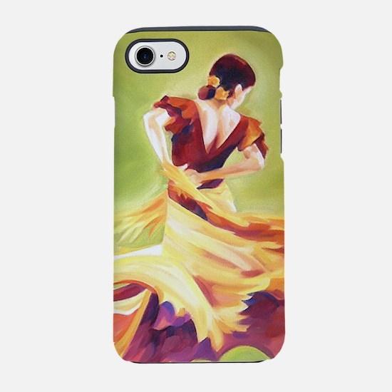 Flamenco Dancer iPhone 7 Tough Case
