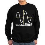 What's Your Sine? Sweatshirt (dark)