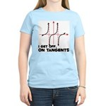 I Get Off On Tangents Women's Light T-Shirt