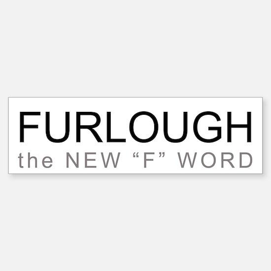 Furloughed Bumper Sticker (50 pk)
