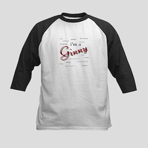 I'm a Ginny Kids Baseball Jersey