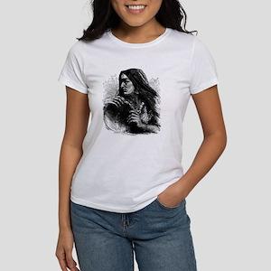 Woman with Tambourine Women's T-Shirt