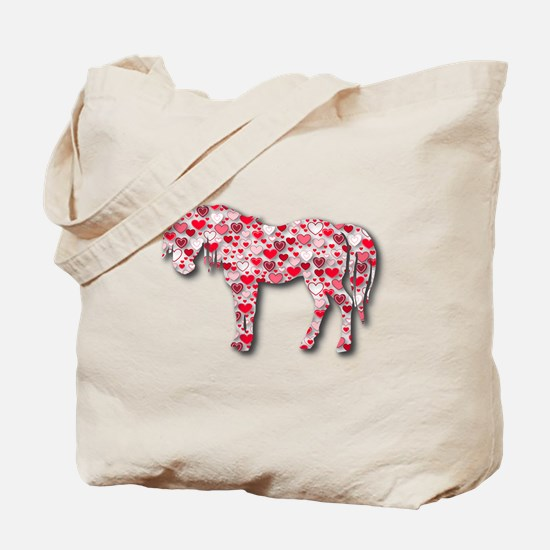HEARTHORSE - Red Tote Bag