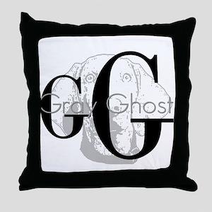 Weimaraner- Gray Ghost Throw Pillow