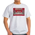 Wirthbru Beer Ash Grey T-Shirt
