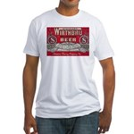 Wirthbru Beer Fitted T-Shirt