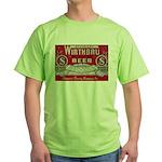 Wirthbru Beer Green T-Shirt