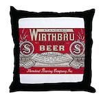 Wirthbru Beer Throw Pillow