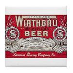 Wirthbru Beer Tile Coaster
