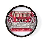 Wirthbru Beer Wall Clock