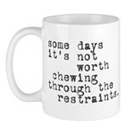 Restraints Mug