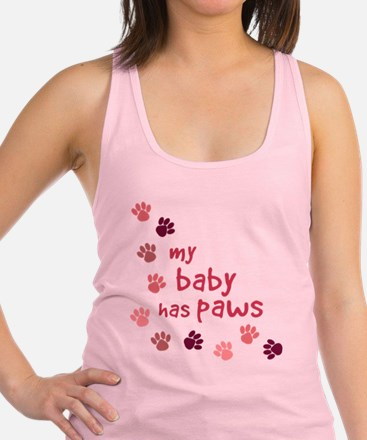 My Baby has Paws Tank Top
