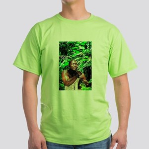 AFRO-CUBAN SANTERIA RELIGIOUS Green T-Shirt