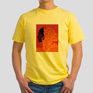 AFRO-CUBAN SANTERIA RELIGIOUS Yellow T-Shirt