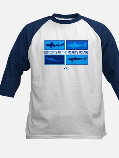 Sharks Kids Baseball Jersey