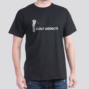 Golf Addict! Dark T-Shirt