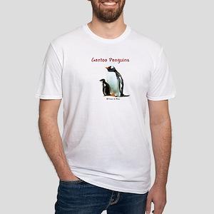 Gentoo Penguins - Fitted T-Shirt