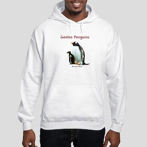 Gentoo Penguins - Hooded Sweatshirt