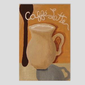 Cafe Latte Postcards (Package of 8)