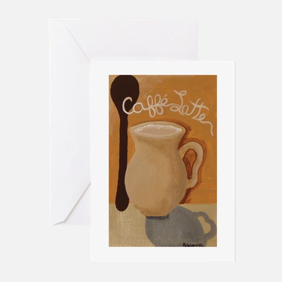 Cafe Latte Greeting Cards (Pk of 10)
